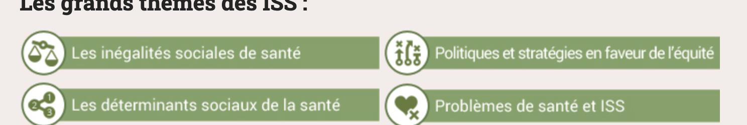 Inégalités sociales de santé à travers le monde: la plateforme de ressources du REFIPS